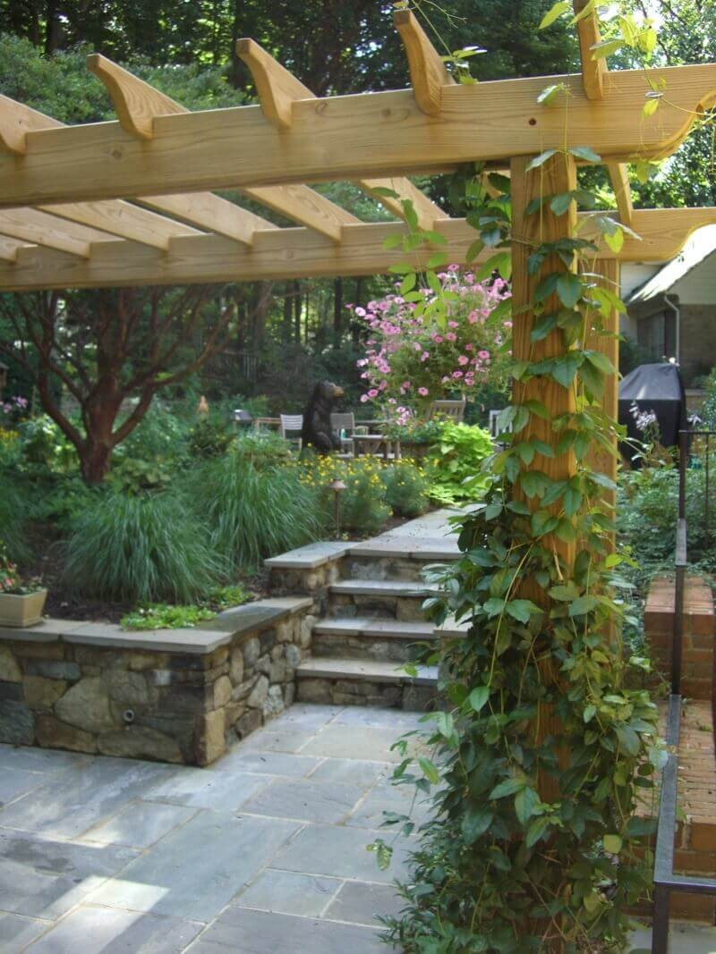 Seattle, Washington Exterior Wood Landscaping Carpentry Contractor